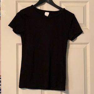 Basic black shirt